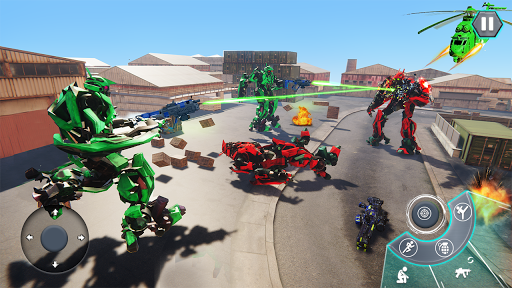 us army robot fps shooting strike game 3d 2020 screenshot 1