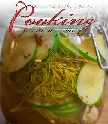 Easy Peasy Dill Pickles