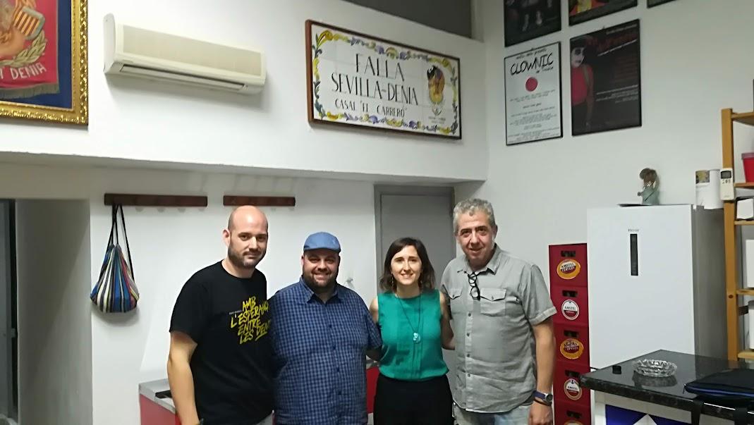 La Falla Sevilla-Dénia col·labora amb Alanna.
