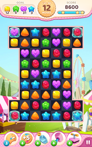 Code Triche Cookie Rush Match 3 APK MOD screenshots 5
