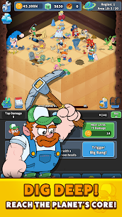 Tap Tap Dig 2: Idle Mine Sim  Apk Download For Android and Iphone 2