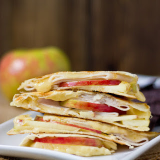 Creamy Apple & Fig Quesadilla