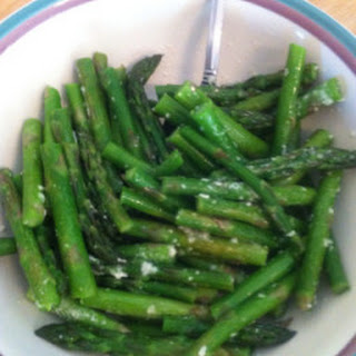 Sauteed Asparagus.