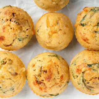 Savory Mediterranean Muffins.