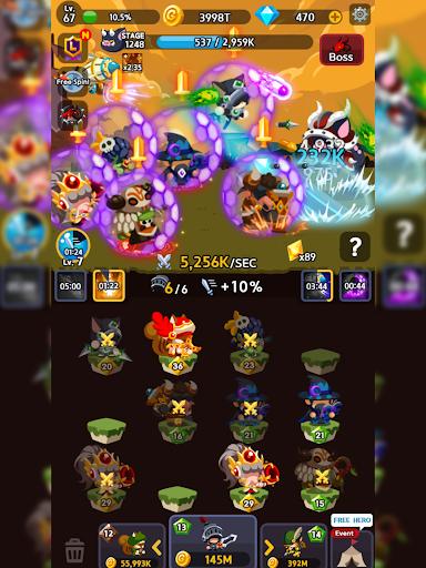 Merge Heroes Frontier: Casual RPG Online screenshots apkshin 15