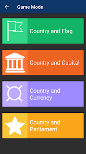 Countries of the world - Quiz game - náhled