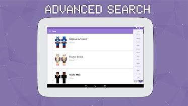 Skins for Minecraft PE 2 - screenshot thumbnail 08