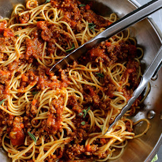 Low Calorie Spaghetti Bolognese Recipes.