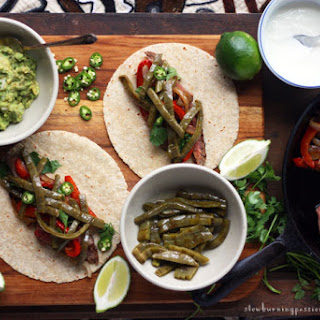 This is a Pretty Good Nopal Cactus Taco