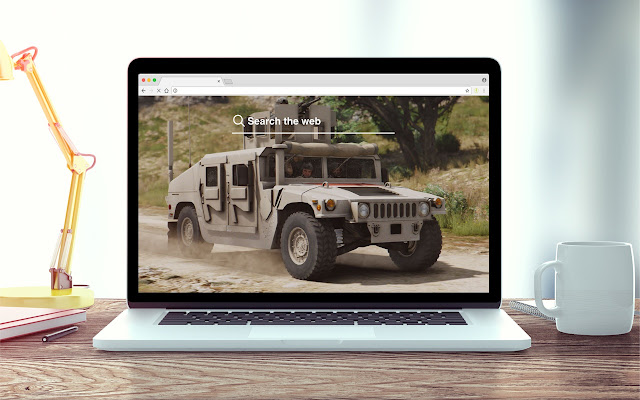 Military Vehicles New Tab Theme