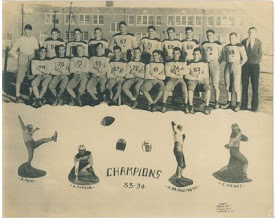 Photo: FCHS 1933-34 Champion Football Team