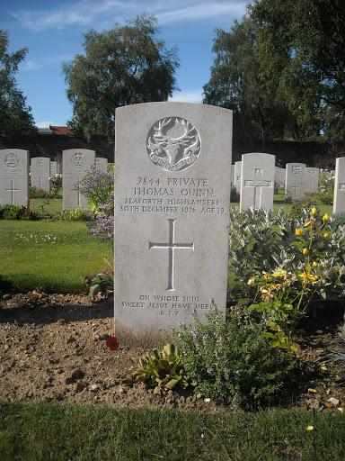 Thomas Quinn grave