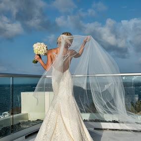 Nikki by Jeffrey Genova - Wedding Bride ( mexico, dress, wedding, beach, bride,  )