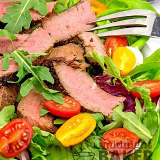 Teriyaki Steak Salad with Sesame Soy Dressing Recipe
