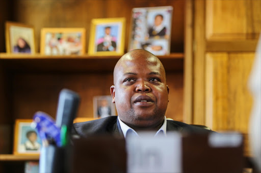 ANCYL leader Collen Maine walked out of the last meeting of the league's national executive committee.