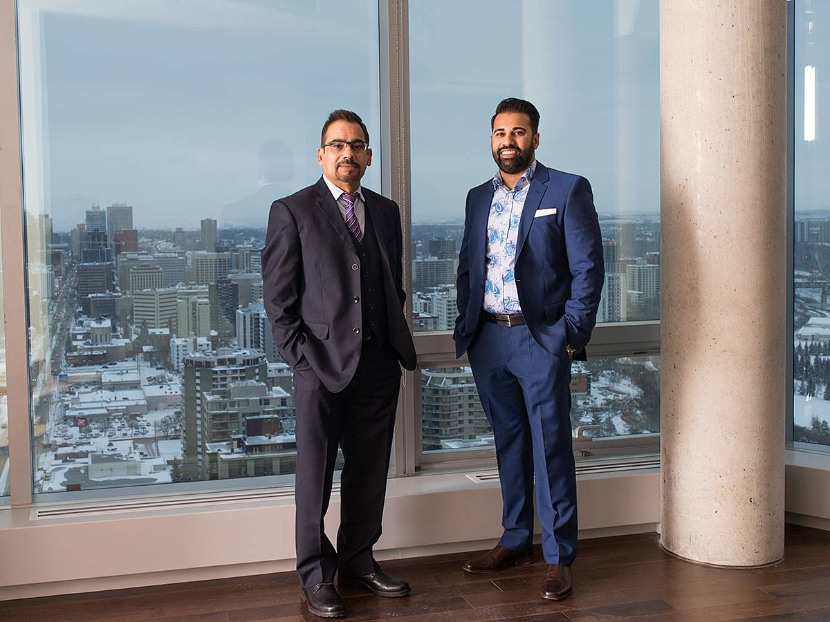 Raj and Rakesh Dhunna have played a big role in rejuvenating downtown Edmonton
