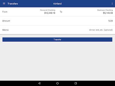 Kirtland FCU Mobile Banking screenshot 6