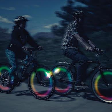 Nite Ize SpokeLit Disc-O Select: Each, Multi-Color LED alternate image 0