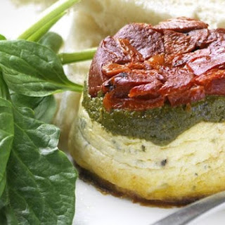 Baked Ricotta Timbales.