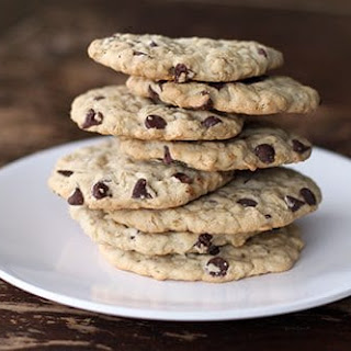 Dairy Free Oatmeal Chocolate Chip Cookie.