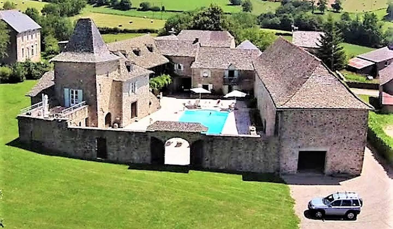 Villa avec piscine et jardin Rieupeyroux