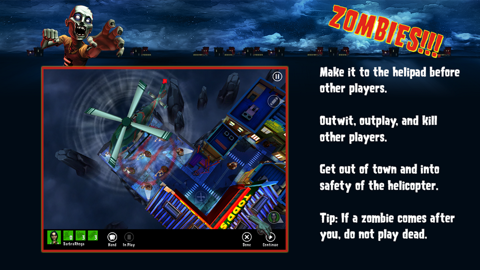 Zombies!!! ® Board Game- screenshot