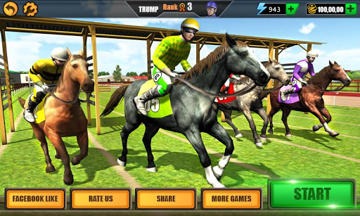 Télécharger Gratuit Horse Riding Rival: Multiplayer Derby Racing APK MOD (Astuce) screenshots 1