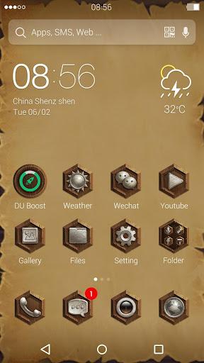 Marble Style:DU Launcher Theme