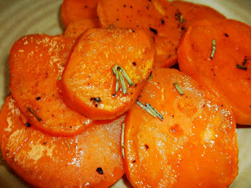 Garlic Rosemary Sweet Potatoes En Papillote Recipe