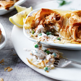 Quick Filo Fish Pie
