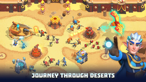 Wild Sky TD: Tower Defense Legends in Sky Kingdom filehippodl screenshot 15