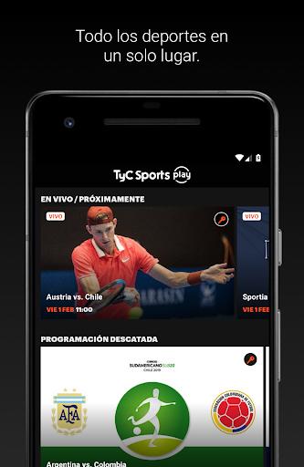 tyc sports play screenshot 1