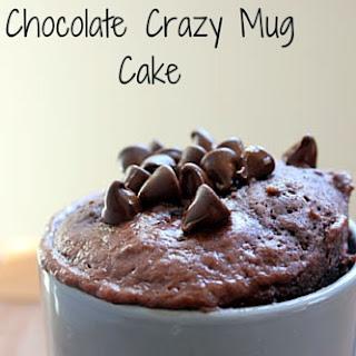 Chocolate Crazy Mug Cake