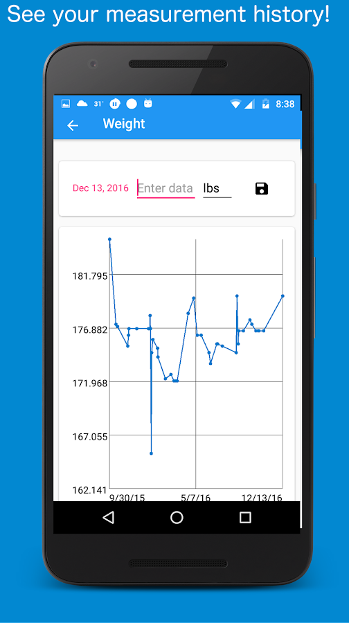 Body Measurement, Fat and Weight Loss Tracker Pro ...