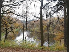 Photo: Dvaro parkas užėmė 15 ha teritoriją, jame tyvuliavo ne vienas tvenkinys,įrengta kriketo aikštelė, vyno rūsys,laikomi povai.