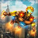 Iron Superhero War: Rope Superhero Games icon