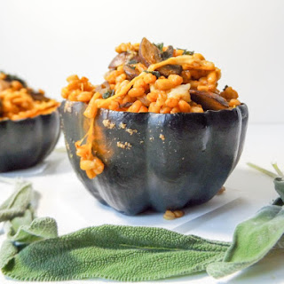 Mushroom Stuffed Squash Recipes