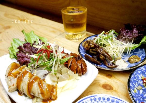 晚間小酌的好去處│信義區 渣男酒場Taiwan Bistro 台式滷味居酒屋
