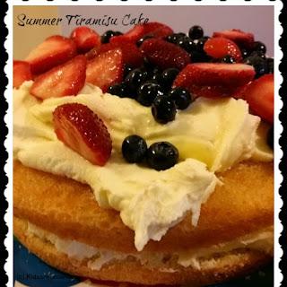 Summer Tiramisu Cake #FreshFruitBowl and Giveaway.