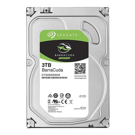 Ổ cứng HDD PC Seagate Barracuda 3TB 3.5