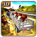 Farm Animal Transporter Truck icon