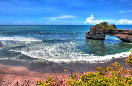 tanah-lot-bali.jpg - Tanah Lot, a rock formation off the Indonesian island of Bali. It is home to the pilgrimage temple Pura Tanah Lot, a popular cultural icon and photography magnet.