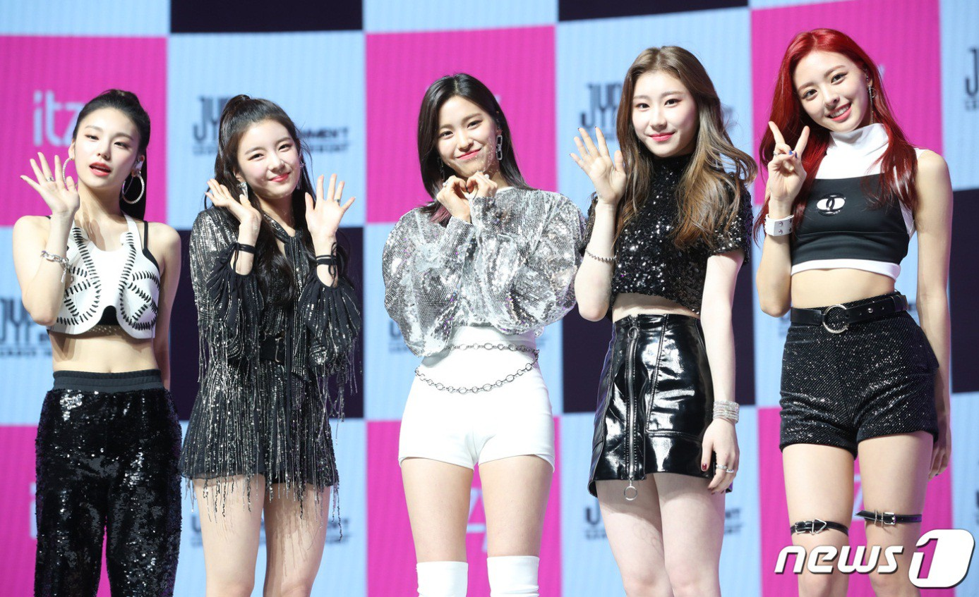 itzy debut jyp family