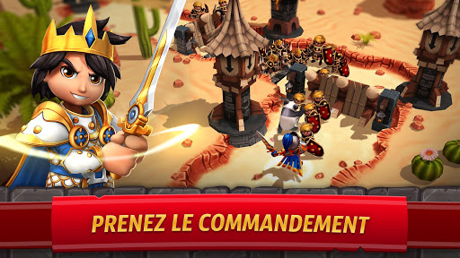 Code Triche Royal Revolt 2: Guerre & Stratu00e9gie - Bataille RPG APK MOD screenshots 1