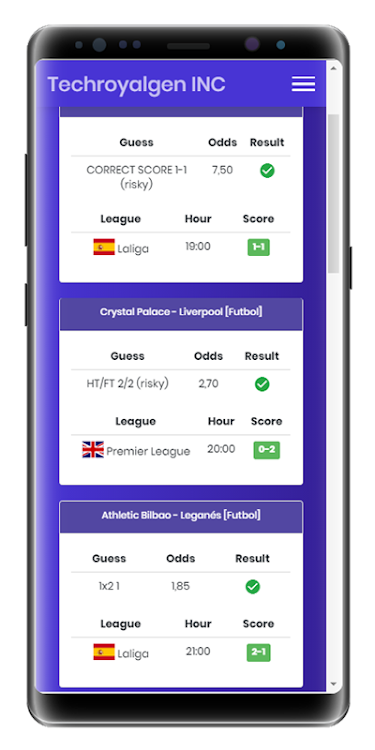 Royal Soccer Best HT/FT Betting Tips App – (Android Apps) — AppAgg