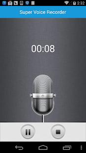 App Super Voice Recorder apk for kindle fire