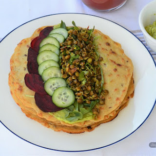 Simple Millet Crepes.