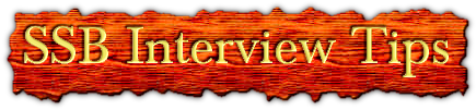 SSB Interview Tips, coaching, books, notifications and SSB dates