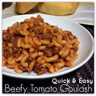 Quick and Easy Goulash Recipe!.