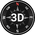 Compass Steel 3D (No ads) icon